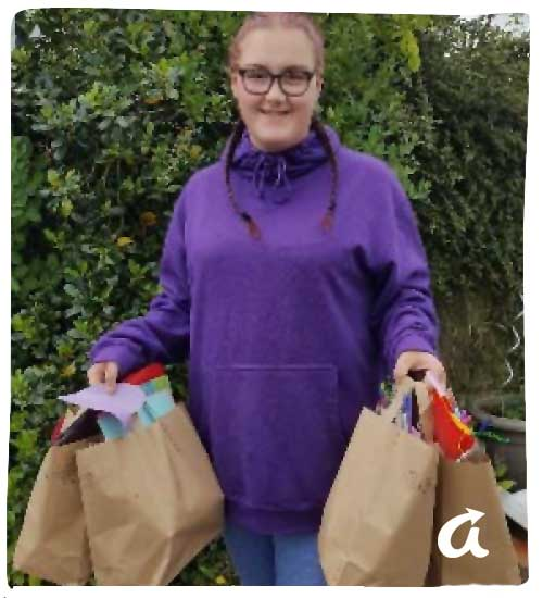 Good News Stories - Denbigh Carnival Craft and 'Well-being Bags'